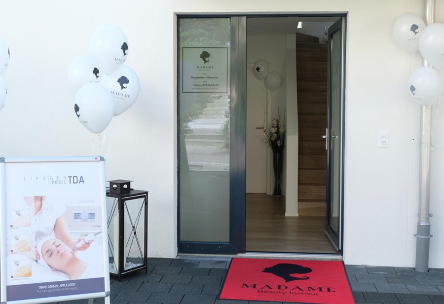 Kosmetik Bern. Madame Beauty Institut Standort Bern.
