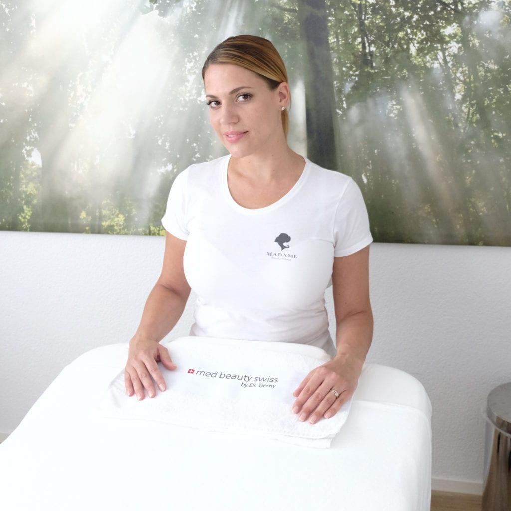 Kontakte und Terminvereinbarungen im Madame Beauty Institut