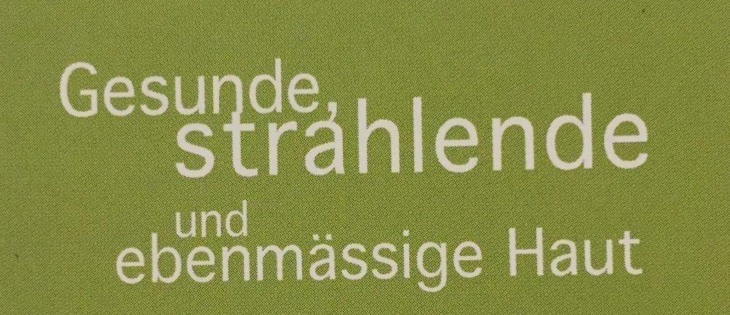 Microdermabrasion in Bern für gesunde strahlende und ebenmässige Haut