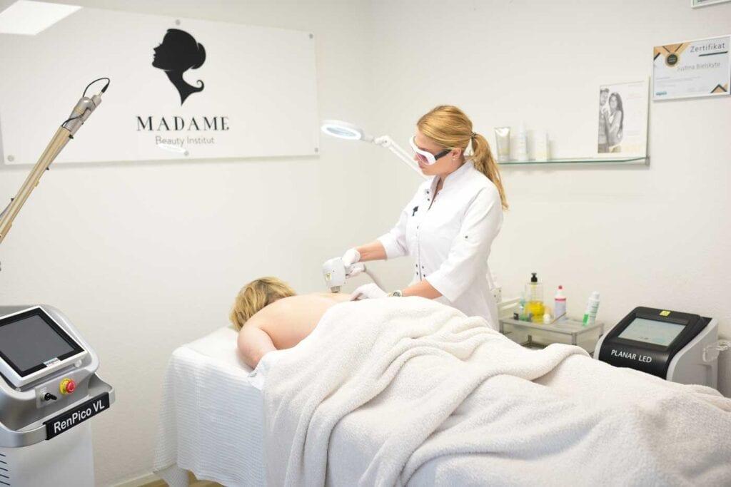 Laser Haarentfernung bei Männer in Bern @ Madame Beauty Institut Bern Switzerland